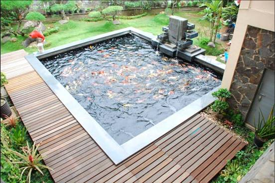 how to build a mini pond