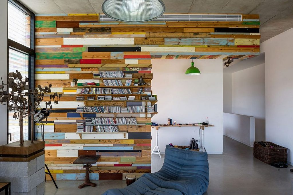 Exceptional-bookcase-crafted-from-reclaimed-wood