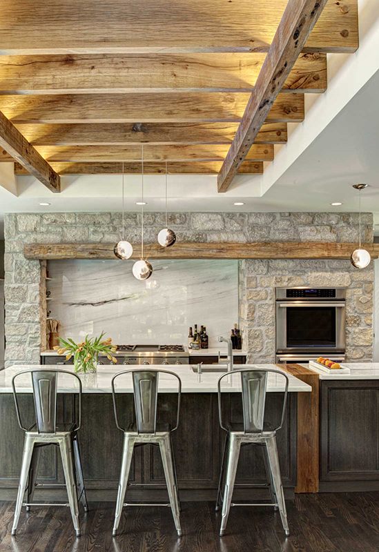 Wood-accents-for-farmhouse-kitchen
