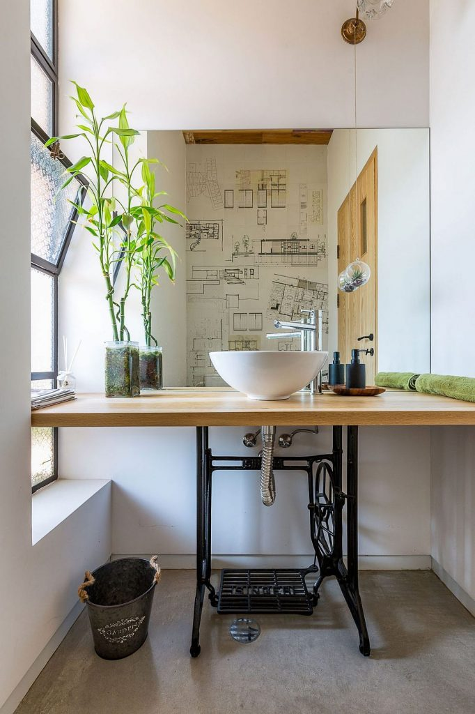 Old-sewing-machine-turned-into-custom-bathroom-vanity