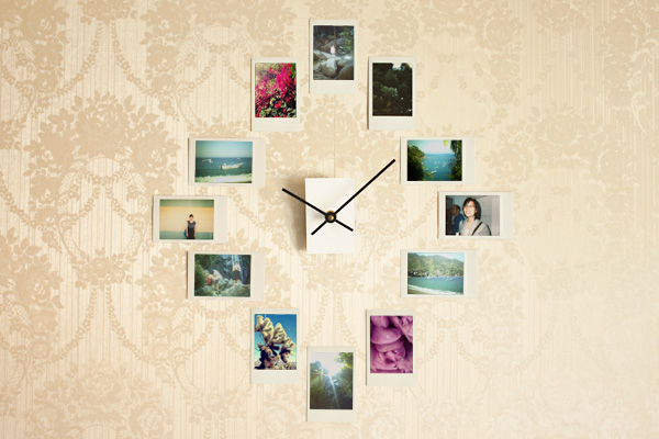 wall-clock-photo-collage